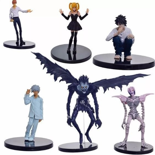 death note coleccion 6 figuras ryuk