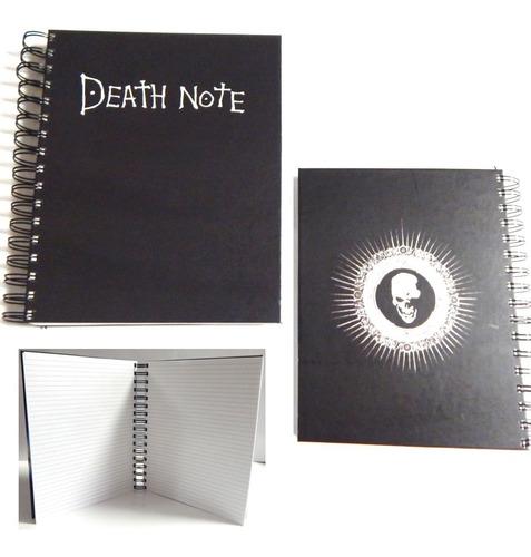 death note cuaderno kira pasta dura 180 hojas sin reglas