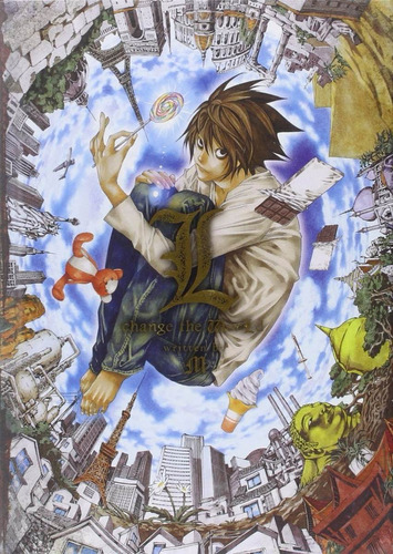 death note: l, change the world tapa dura ingles