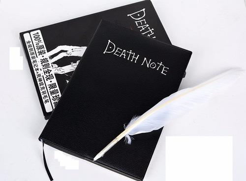death note libreta con pluma