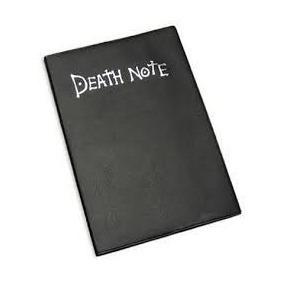 death note libreta cubierta tipo cuero envio gratis