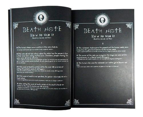 death note libreta light ryuk l misa todas reglas en español