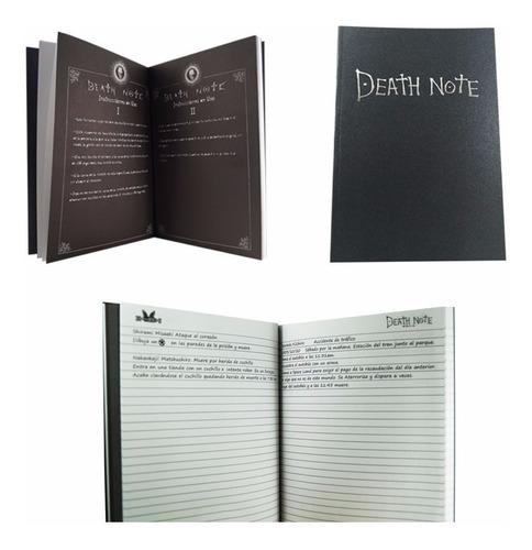 death note libreta light tamaño profesional kira shinigami