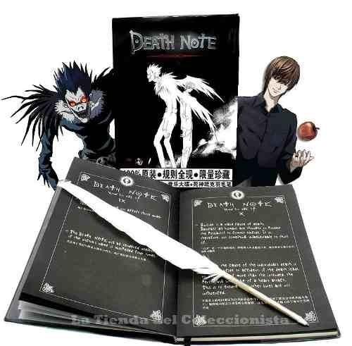 death note libreta original + pluma lapicera