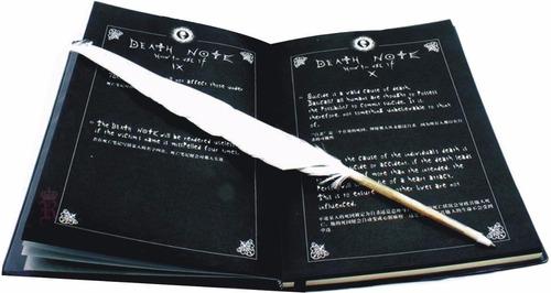 death note libreta +pluma +cd anime + collar  ajd