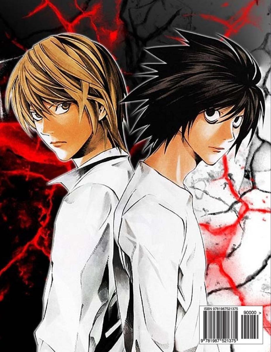 Death Note Libro De Colorear Con Anime
