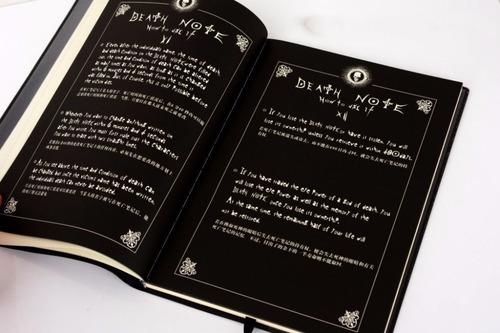 death note | libro + pluma | importados