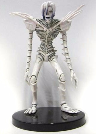 death note shinigami rem figura con base 17cm