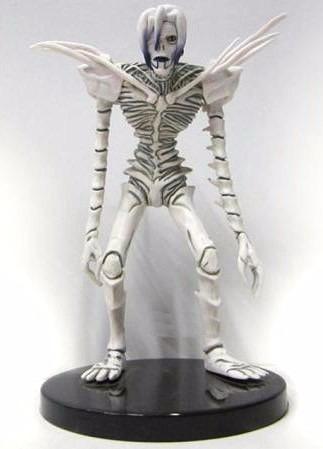 death note shinigami rem figura con base 17cm