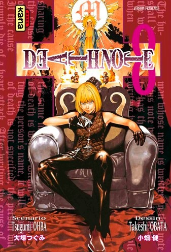 death note vol 8 manga editorial larp - random comics
