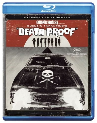 death proof (extended and unrated edition) [blu-ray] (2007)