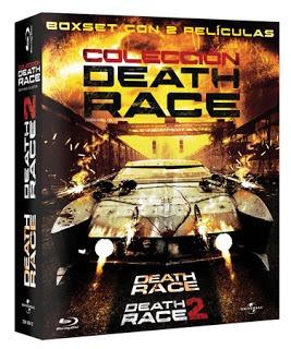 death race la colección 2 películas bluray original nuevas