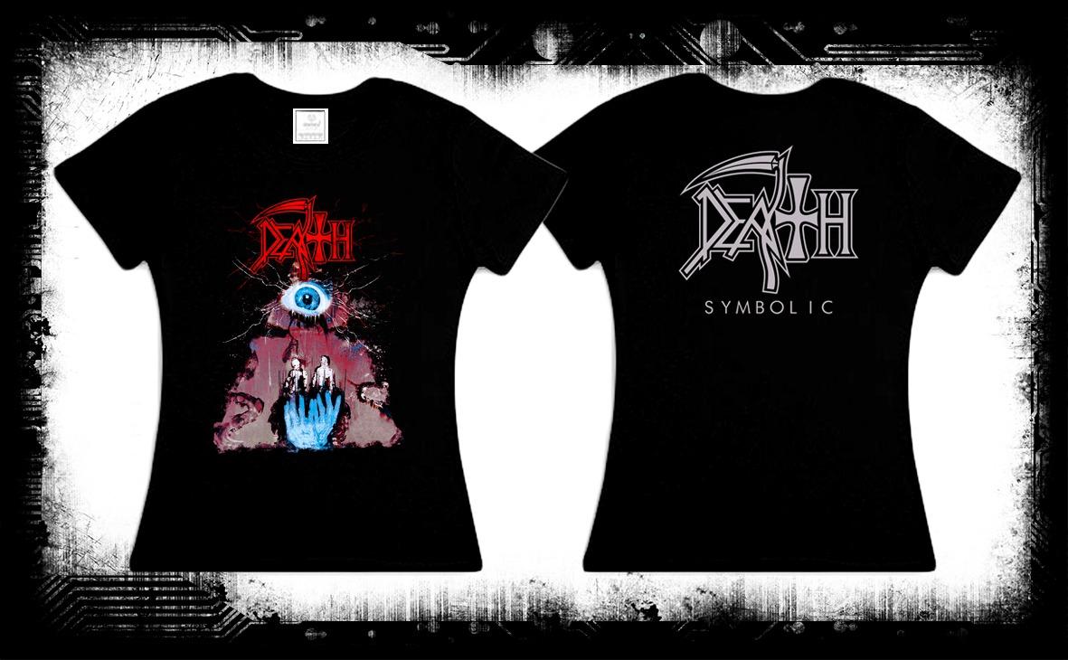 Death Symbolic Camiseta Y Blusa Death Metal Obituary Evol