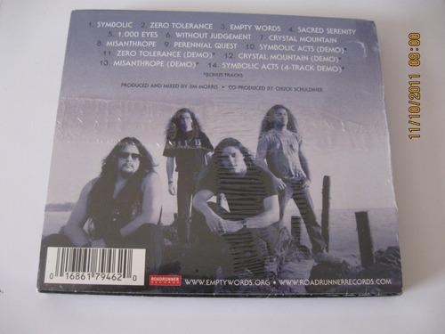 death symbolic cd press u.s.a. edition 5 bonus sellado