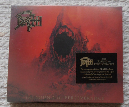 death - the sound of perseverance (2 c ds ed u s a slipcase)