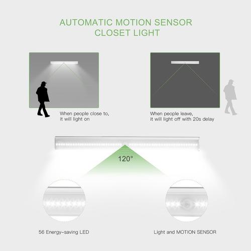 debajo de las luces del gabinete, stick-on anywhere sensor d