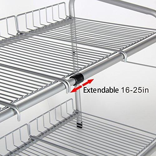 debajo del fregadero 2 niveles extensible estante organizado