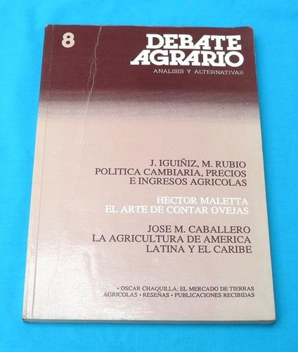 debate agrario 1990 agricultura américa latina ganadería