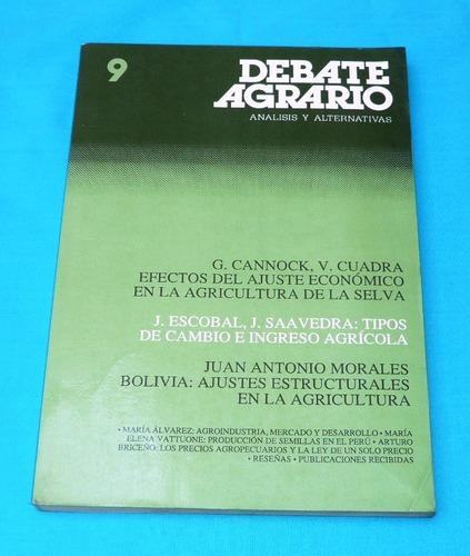 debate agrario jul 1990 agricultura selva producción semilla