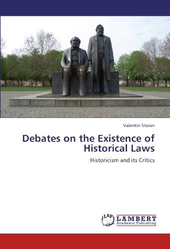 debates on the existence of historical laws; st envío gratis