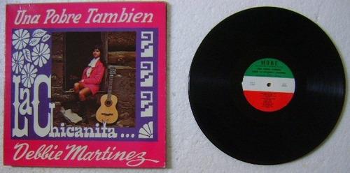 debbie martinez la chicanita 1 disco lp vinilo