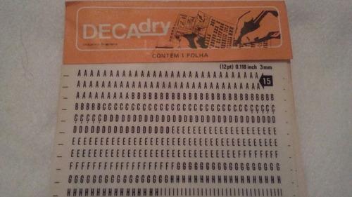 decadry 3mm . mod 15