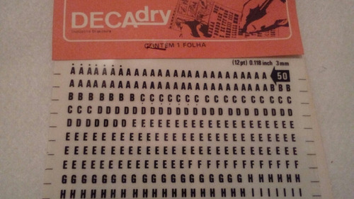 decadry 3mm . mod 50