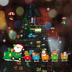 Adornos Para Ventanas En De Artículos Mercado Navidad XiuZOPk