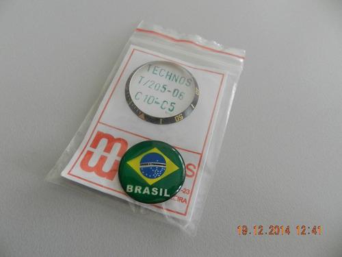 decalque relogio technos t205-06