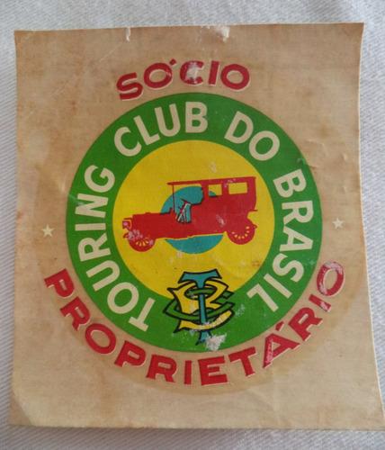 decalque touring club do brasil