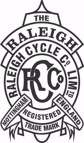 decalques a base d'água bicicleta raleigh ano 1912 inglesa