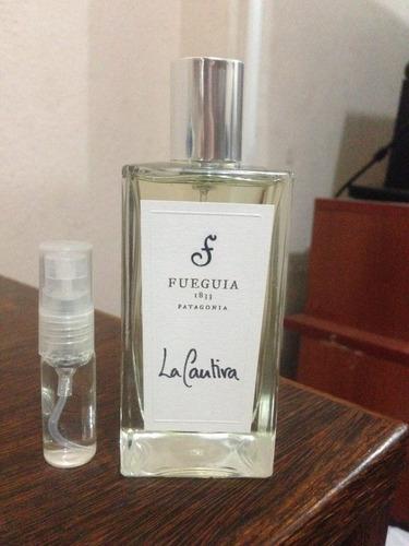decant de 5ml da casa fueguia 1833: vários perfumes