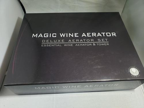 decantador aireador vino de lujo gift set envió gratis grand