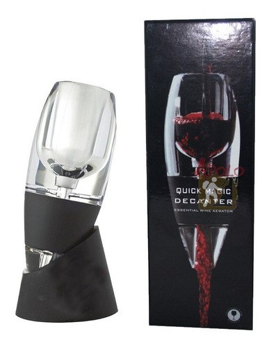 decantador oxigenador para vino aireador con base