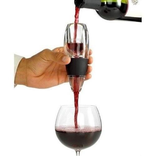 decantador vinos oxigenador aireador magic decanter con base