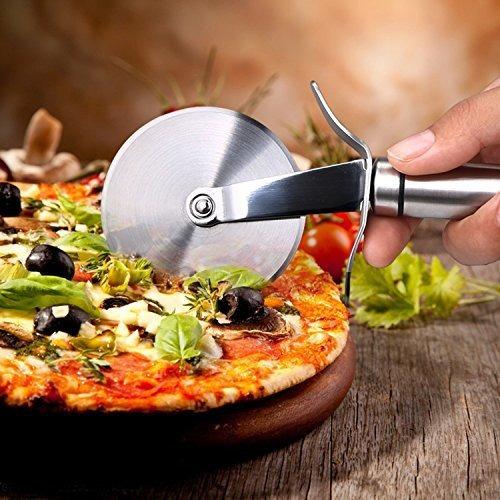 decen decen pizza cutter rueda con hoja de