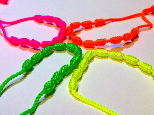 decenarios en colores neón exclusivos de gokin ( paq. de 4 )