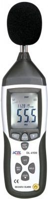 decibelímetro dl-4100 icel manaus microfone capacitivo desta