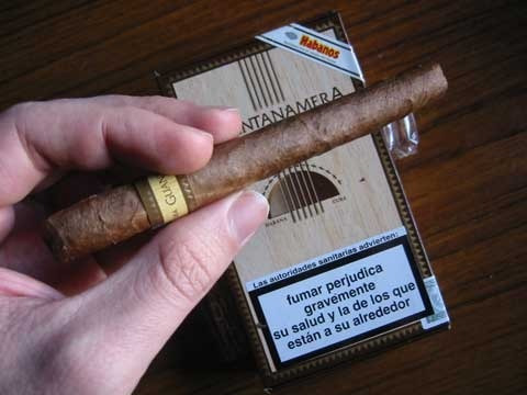 decimos decimo pack x25 habanos guantanamera habano cigarro