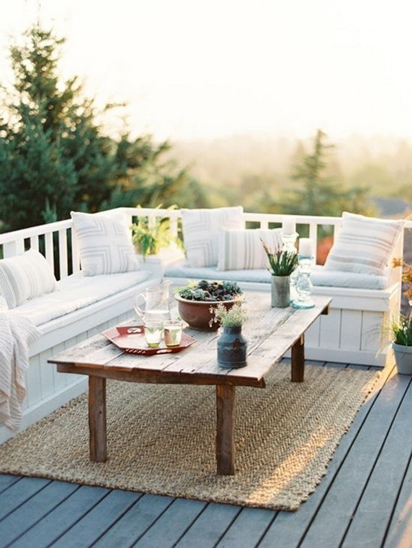Deck Autoadhesivo Para Terrazas Y Balcones Decoración Diseño