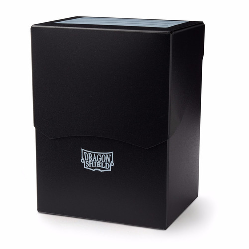 deck box - dragon shield - black