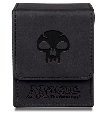 deck box flip ion símbolos de mana magic black preto