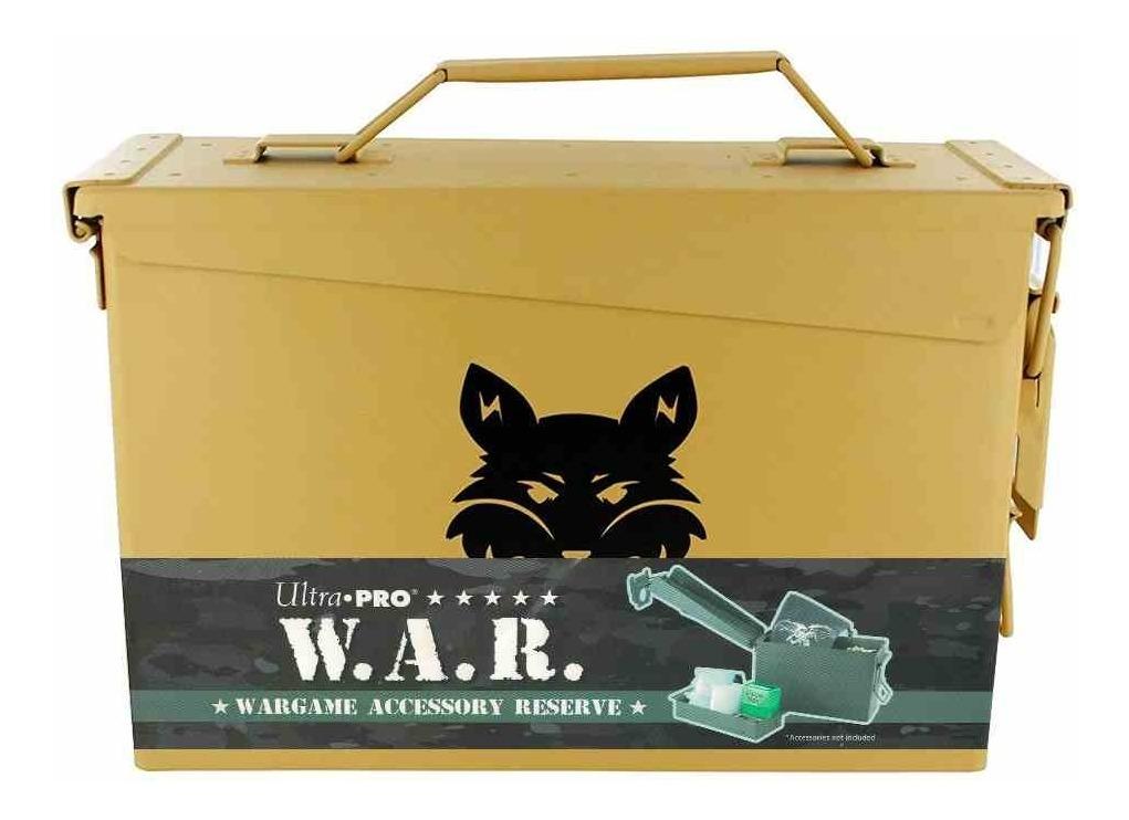 Deck Box Metal War Case Ultra Pro Yugioh Magic Pokemon Jungl