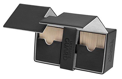 deck box: twin flip n tray xeno 160+ juego de cartas, negro