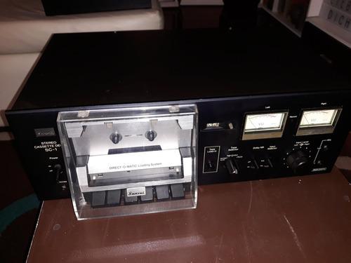 deck casetera sansui sc1 (sc1100) (no pioneer marantz  )