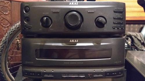 deck cassettero akai
