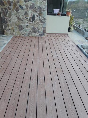 deck composite de bamboo - libre de mantenimiento