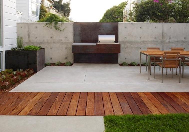Deck de cumaru piso de madera para exterior peruano for Tipos de pisos para exteriores