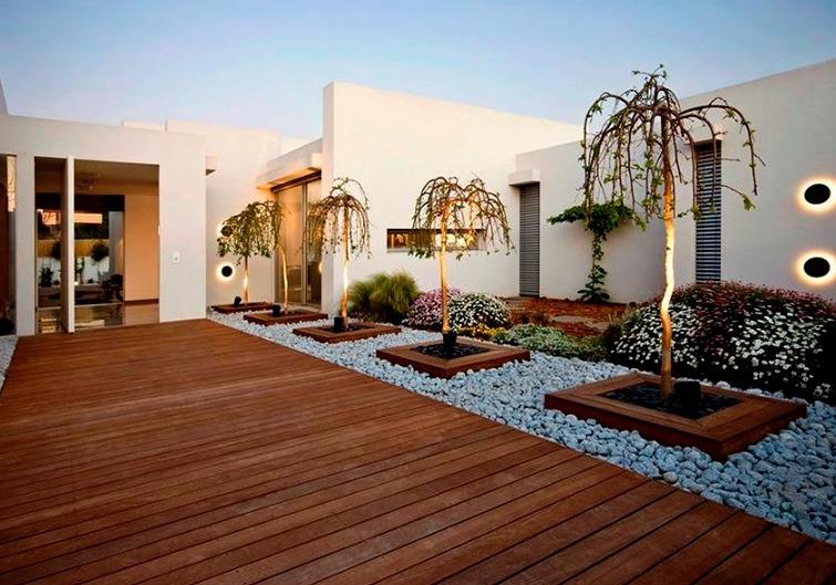 Deck de cumaru piso de madera para exterior peruano - Muros para jardin ...