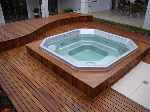 Image Result For Deck Design Ideas With Tub